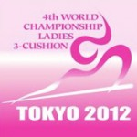 4th World Championship Ladies 3-Cushion ロゴ