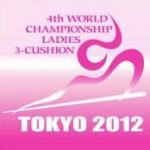 4th World Championship Ladies 3-Cushion ロゴ