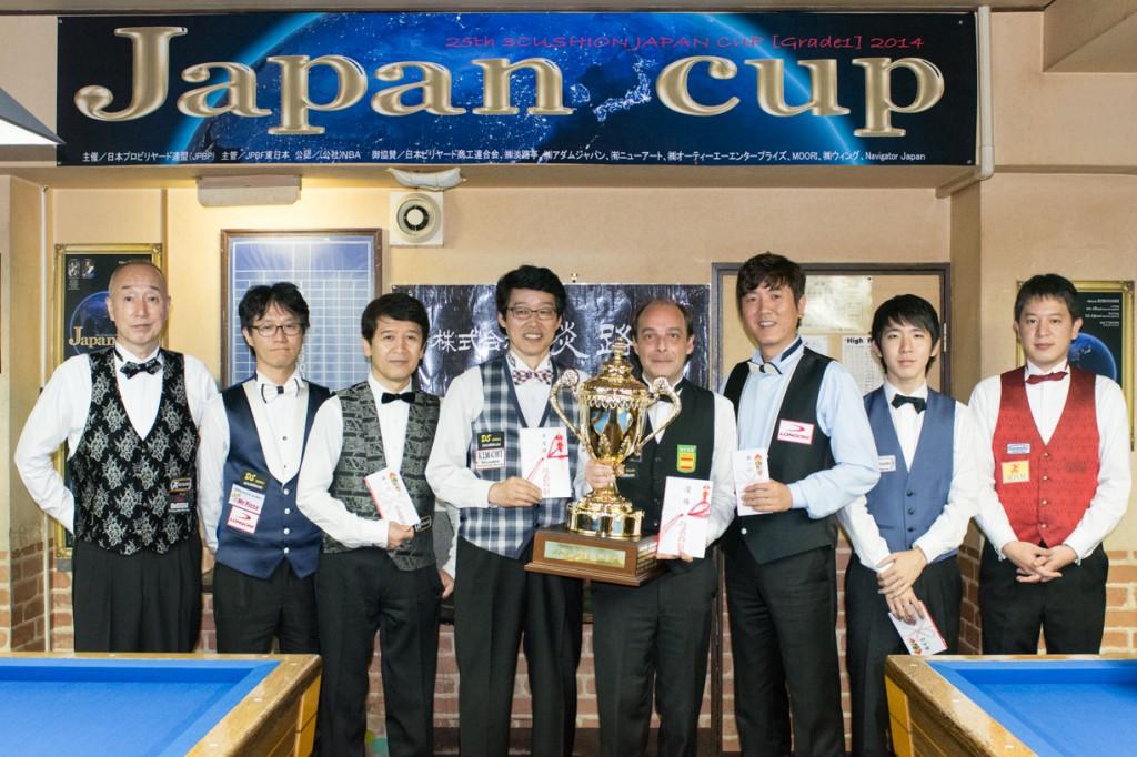 2014 JAPAN CUP [写真提供:carom seminar様]