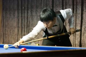 KIM Heang Jik選手 2014 JAPAN CUPより 写真提供:carom seminar様
