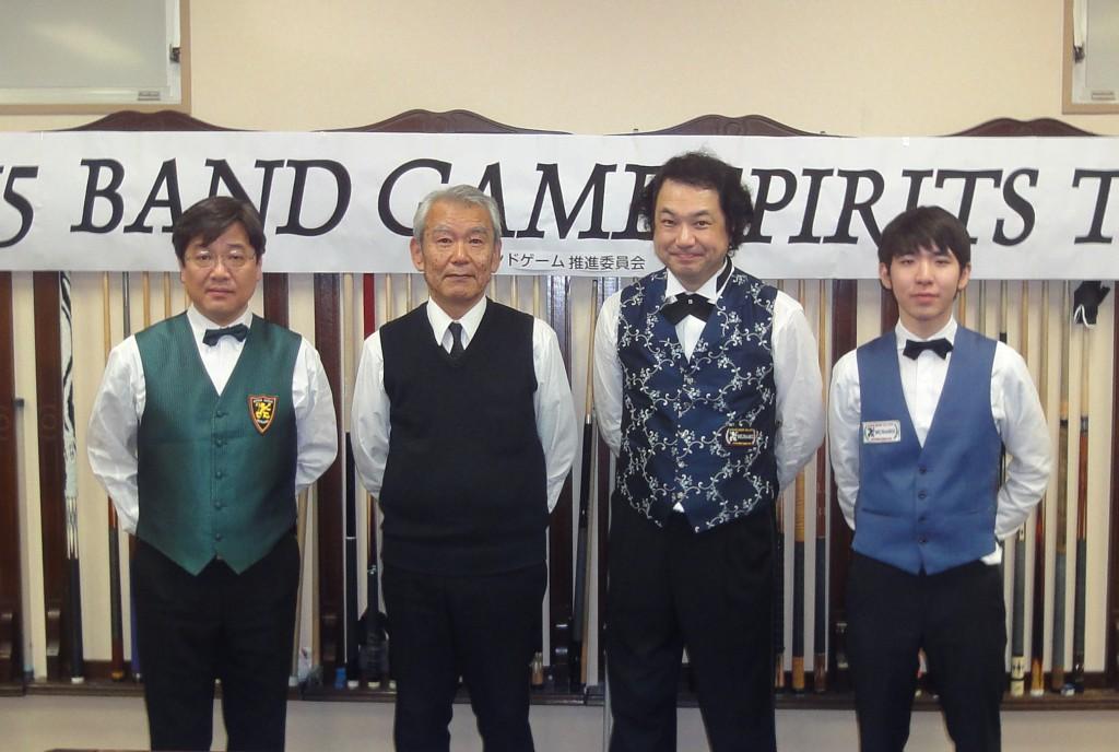 2015_BANDSPIRITS 最終戦ベスト4