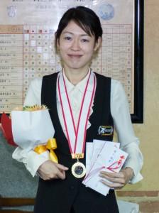 2015 全日本女子3C選手権者 肥田緒里恵(JPBF)