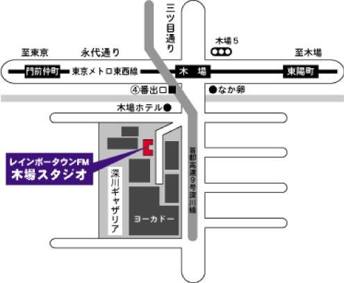 木場スタジオmap